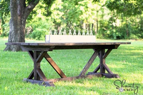 farmhouse table - Ana White